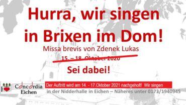 Messe im Dom zu Brixen